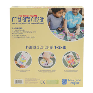 1702 (EDUCATIONAL.I) - CRITTER'S CLOSET