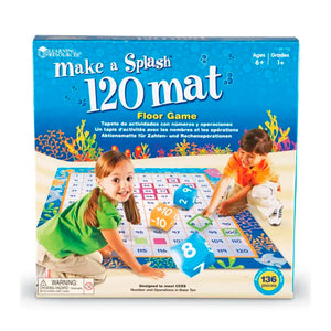 Tapete de 120 Actividades Matemáticas : MAKE A SPLASH - Learning Resources - 1772