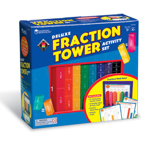 LER2075 (LEARNING R.)  - ARTICULO ESCOLAR, DELUXE FRACTION TOWER SET