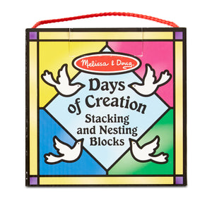 2777 (M&D) Bloques Dias De La Creacion - Days Of Creation Nesting Blocks