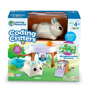 STEM : Coding Critters : Bopper con Hip & Hop - Learning Resources - 3089