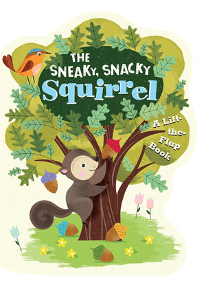 Juego de Mesa : La Ardilla Sigilosa (The Sneaky-Snacky Squirrel) - Educational Insights - 3405