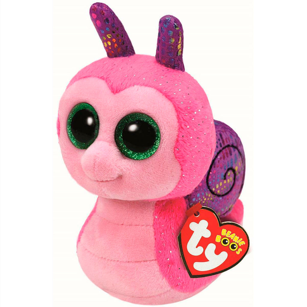 TY Peluche Caracol : Scooter - Regular 15 cm - 37199