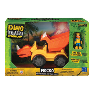 4158 (EDUCATIONAL I.)  - JUGUETE VOLQUETA, ROCKO THE STYRACOSAURUS DUMP TRUCK