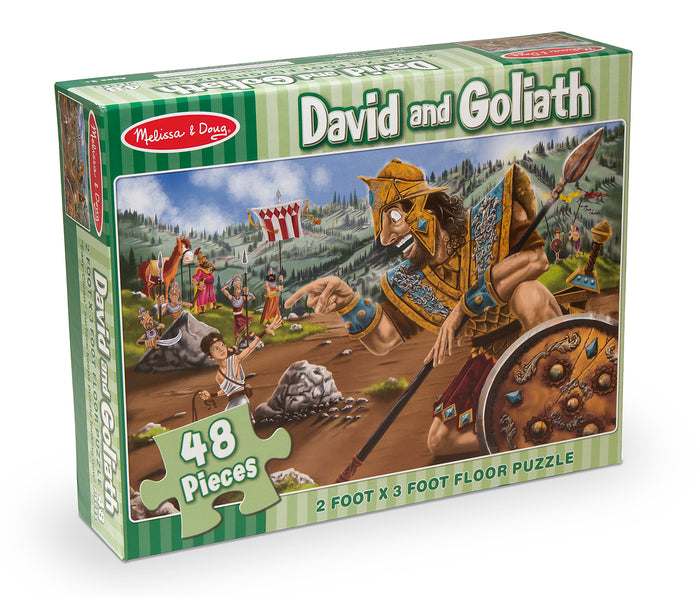 Rompecabeza Y Goliath - David And Goliath 4494