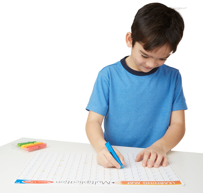 Multiplication Problems Write-A-Mat (Bundle Of 6) 5033