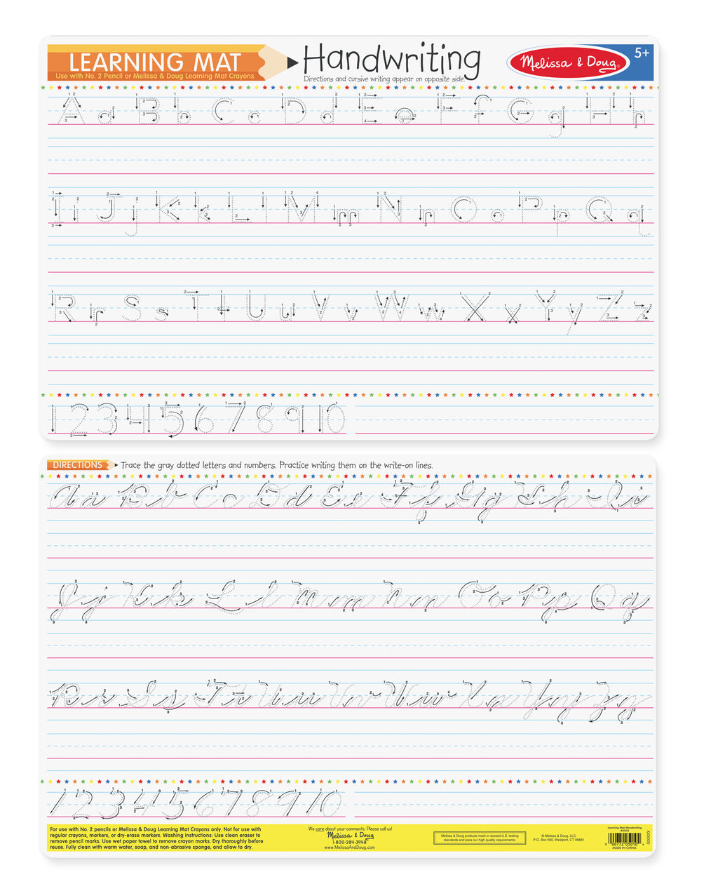 Handwriting Write-A-Mat (Bundle Of 6) 5035