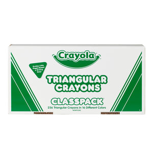 Classpack Crayones Triangulares 16 Distintos Colores 256 Unid 52-8039