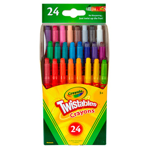 Caja de 24 Crayones Mini Giratorios - Twistables 52-9724