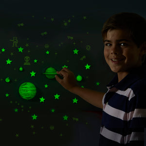 STEM : Set Planetas y Estrellas - Brillan en la Oscuridad - Educational Insights - E5234