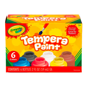 Pintura Tempera 6 Botes de 59ml 54-1997