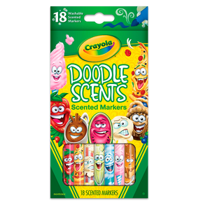 18 Ct. Doodle Scents Markers 58-5070