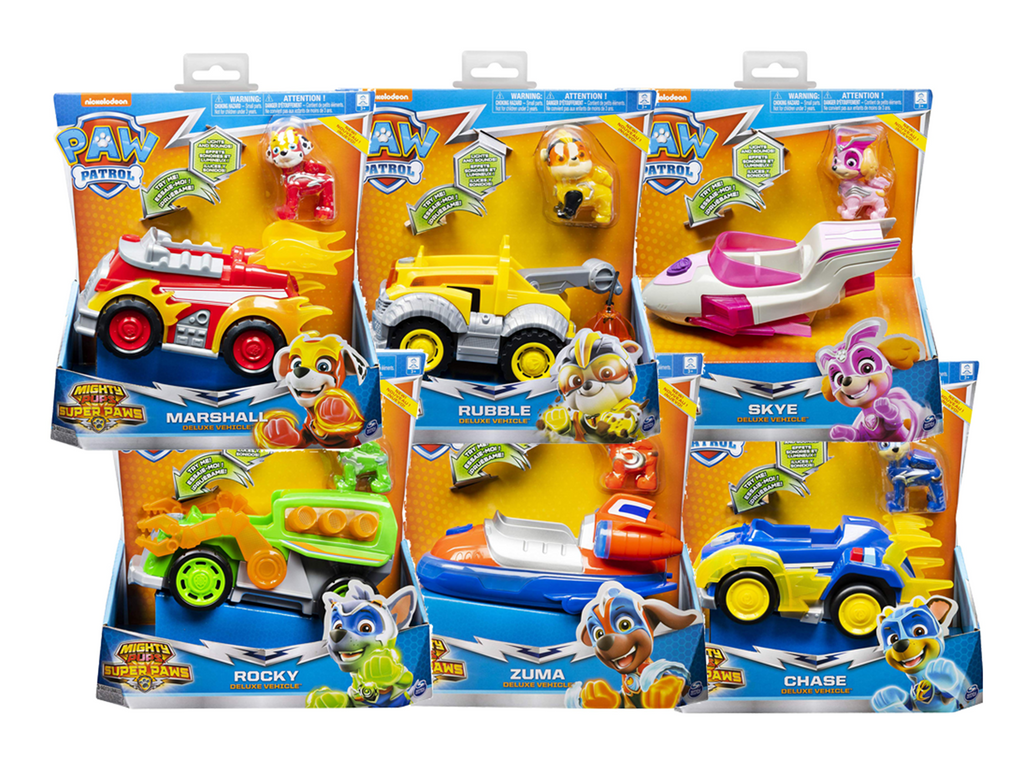 6053026 -  PAW PATROL MIGHTY PUPS VEHICULO DE