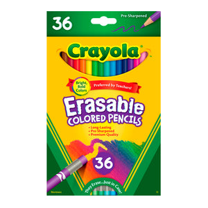 Lápices de Colores Borrables : 36 Colores - Crayola (68-1036)