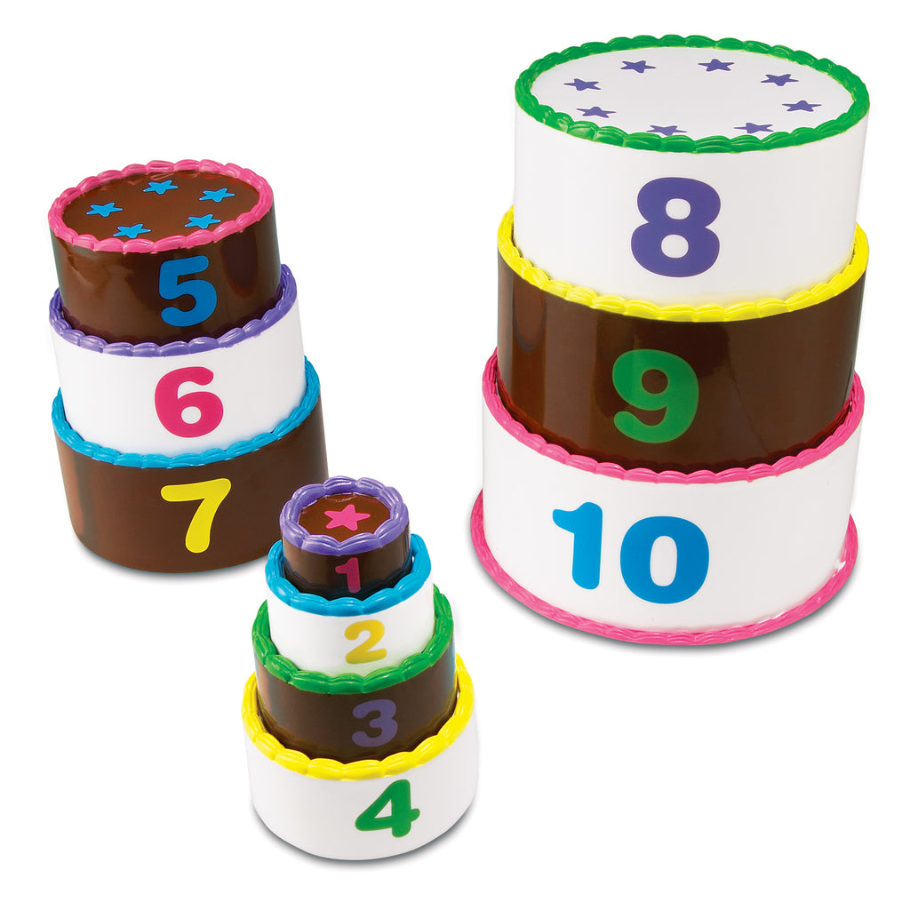 LER7312 (Learning) - SMART SNACKS®- STACK & COUNT LAYER CAKE