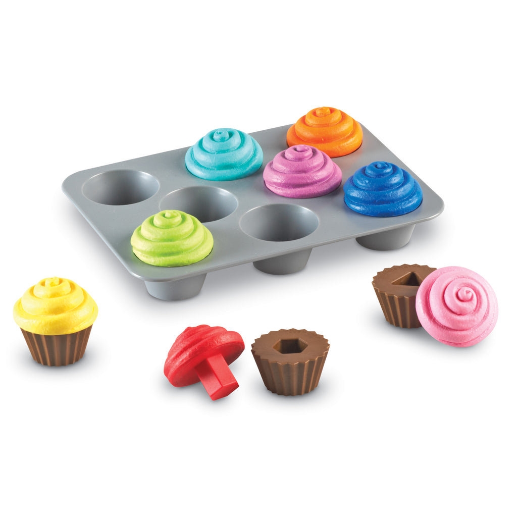 Set de Clasificación de Formas : Cupcakes - Learning Resources - LER7347