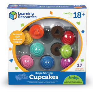 LER7347 (Learning) - SMART SNACKS (R) SHAPE SORTING CUPCAKES