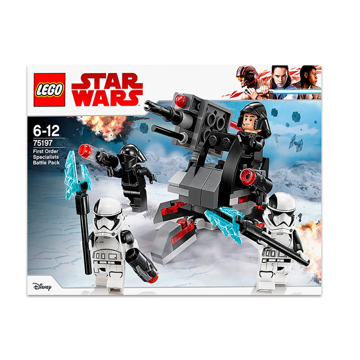 75197 (LEGO) STAR WARS - Battle Pack Ep8 White Planet Troope