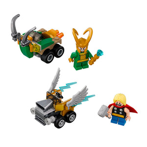 LEGO - MARVEL : Mighty Micros - Thor vs. Loki - 76091