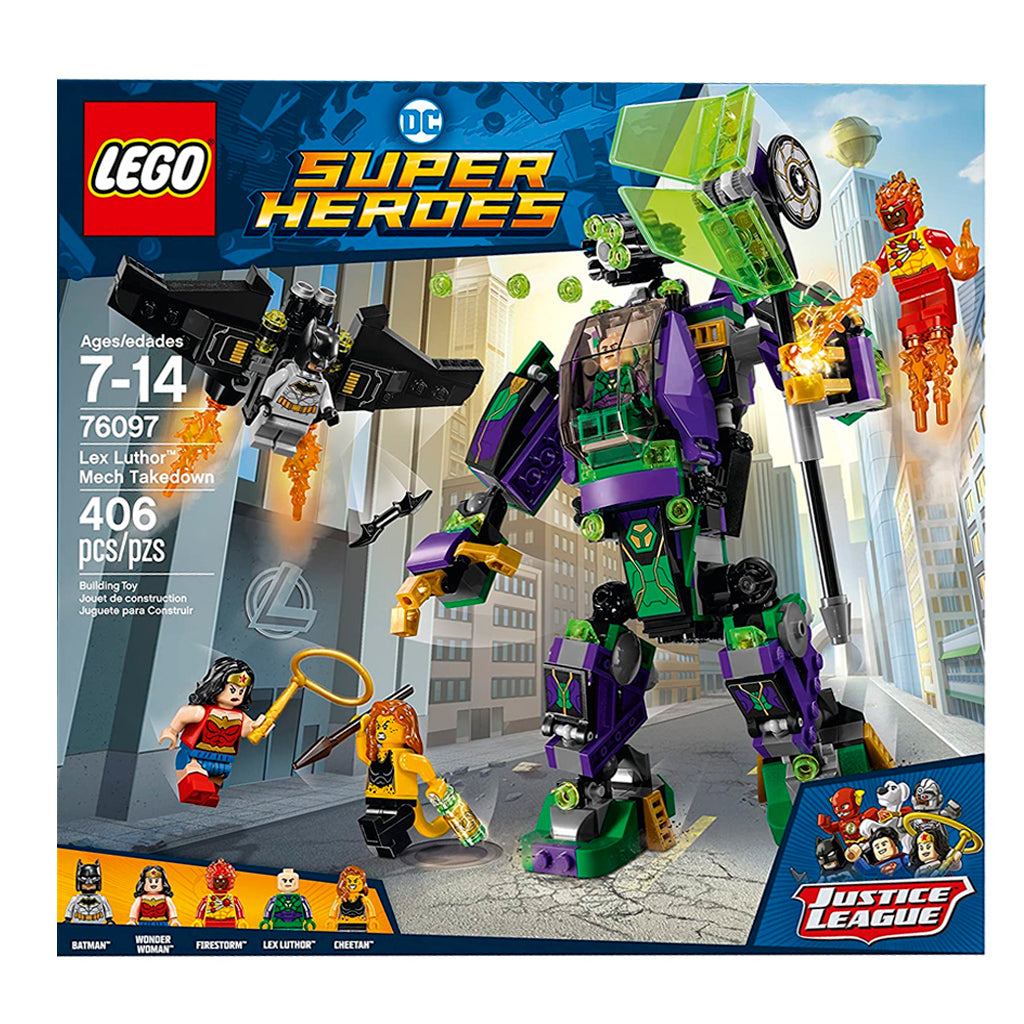 76097 (LEGO) DC SUPER HEROES - Lex Luthor Mech Takedown