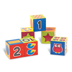 LER7721 (Learning) - NUMBER AND SHAPE PUZZLE BLOCKS