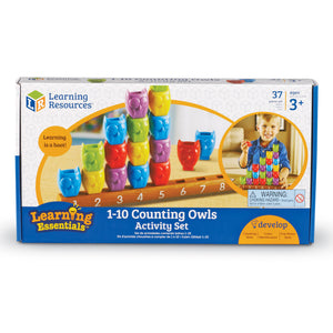 Set de Buhos para Contar 1-10 - Learning Resources - 7732