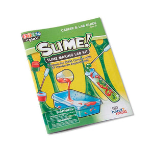 STEM Kit de Laboratorio para hacer Slime - Hand 2 Mind - 86412