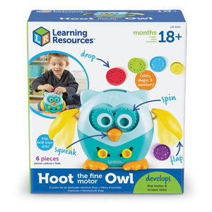 Hoot el Buho de Motricidad Fina - Learning Resources - LER9045