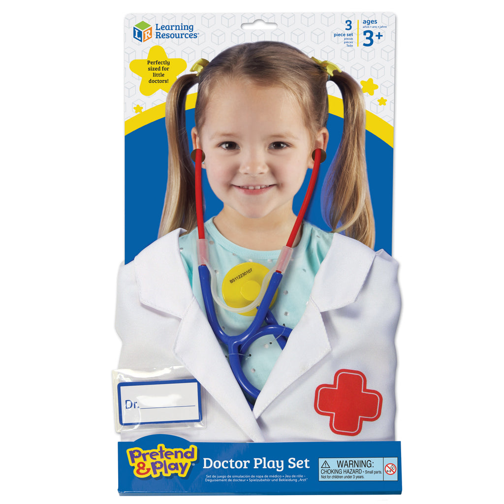 LER9057 (LEARNING R.)  - JUGUETE DOCTOR, PRETEND AND PLAY DOCTOR PLAY SET