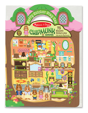 Pegatinas En Relieve - Chipmunk House 9101