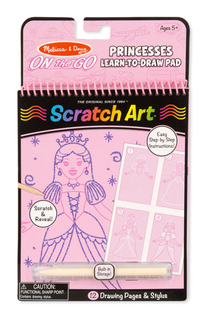 Princesses Learn To Draw Pad 9144