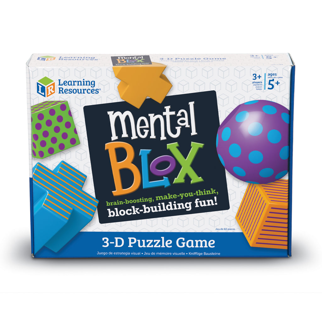 Juego de Figuras Geométricas - Mental Blox - Learning Resources - LER9280