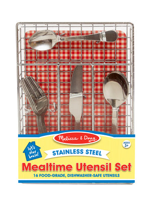 Let'S Play House Mealtime Utensil Set 9347