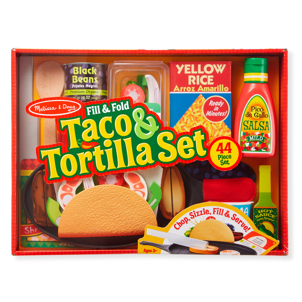 Set de Taco & Tortilla - Melissa and Doug - 9370