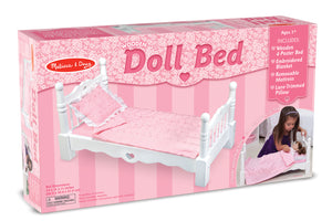 Wooden Doll Bed 9383
