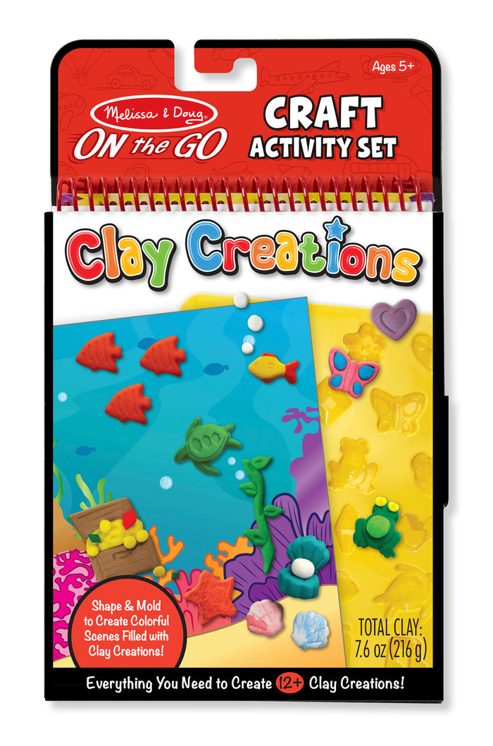 On The Go Crafts - Clay Creations 9440