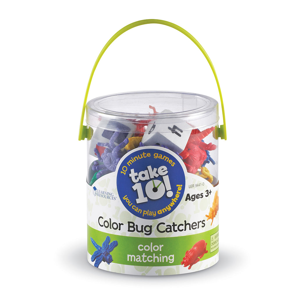 LER9441 (LEARNING R.)  - JUGUETE INSECTOS, TAKE 10 GAMES COLOR BUG CATCHERS