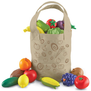 LER9722 (Learning) - FRESH PICKED FRUIT & VEGGIE TOTE