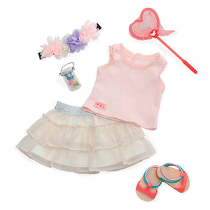 BD30198Z (OUR GENERATION) - ACCESORIOS DE MUÑECAS,  Dlx Butterfly Watcher Outfit