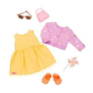 BD30341Z (OUR GENERATION) - ACCESORIOS DE MUÑECAS,  Deluxe Summer Dress Outfit