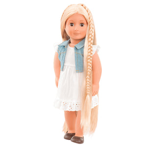 BD31055Z (BATTAT) - MUÑECAS, Hair Grow Doll, Blond - Phoebe