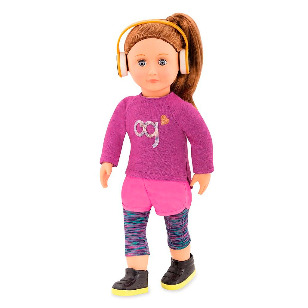 BD31162Z (OUR GENERATION) - MUÑECA,  Doll with Sporty Outfit, Alicia