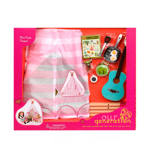 BD37209Z (OUR GENERATION) - SET DE JUGUETES,  Mini Teepee Playset