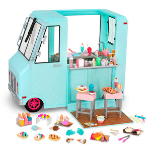BD37252Z (OUR GENERATION) - SET DE JUGUETES,  Ice Cream truck