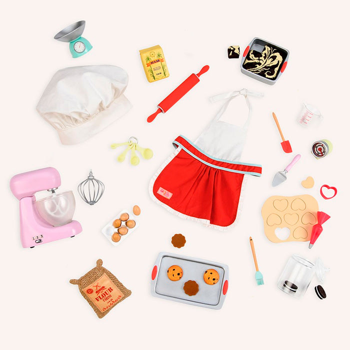 BD37282Z (OUR GENERATION) - SET DE JUGUETES,  Baking Set