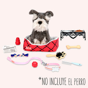 BD37327Z (OUR GENERATION) - SET DE JUGUETES,  Pet Care Accessory Set
