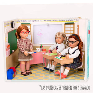 BD37330Z (OUR GENERATION) - SET DE JUGUETES,  School Room