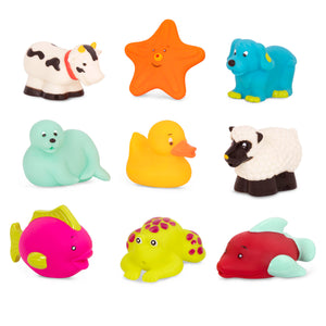 BX1805Z (B TOYS) Animales Hora del Baño - Squish and Splash Duck