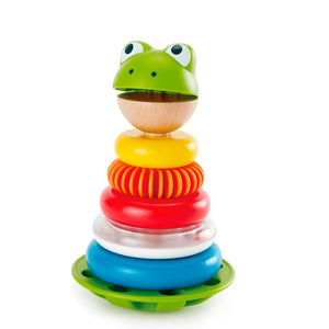 E0457 (HAPE) Aros Apilables del Señor Rana (Mr. Frog Stacking Rings)