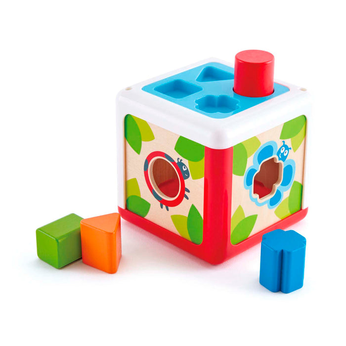 E0507 Toddler Toys: Caja de formas,  (Shape Sorting Box)